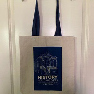 NWOT New Orleans Preservation Center Tote (Canvas)